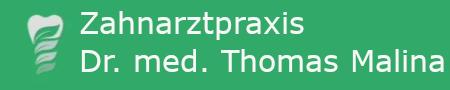 Zahnarztpraxis Dr. med. Thomas Malina Logo